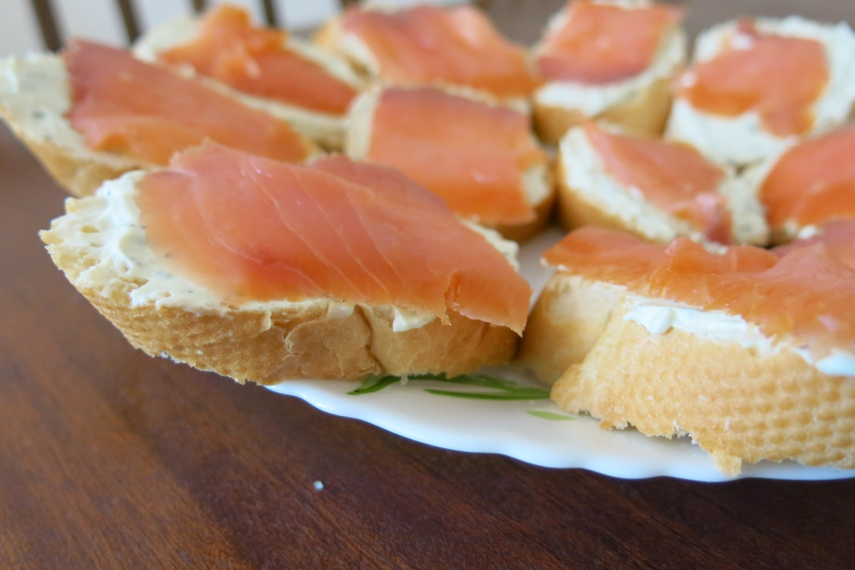 smoked salmon appetizer from katrina 39 s kitchen. Black Bedroom Furniture Sets. Home Design Ideas